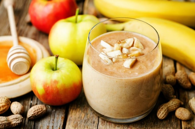 Apple-banana-peanut-butter-smoothie