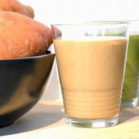 Banana and Sweet Potato Smoothie Dessert