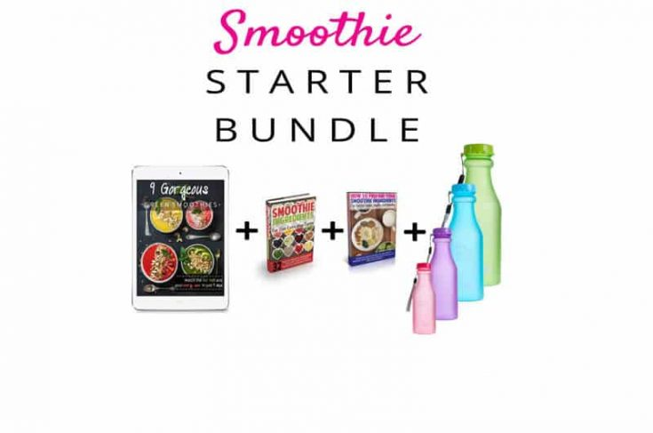 FREE Smoothie Starter Bundle (Smoothie Bottle + Books + Video)