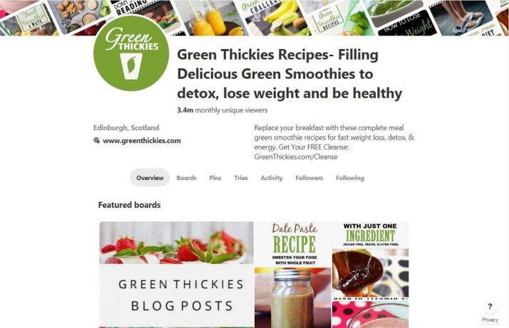 The Ultimate Smoothie Blender Guide; Green Thickies Recipes Pinterest Board