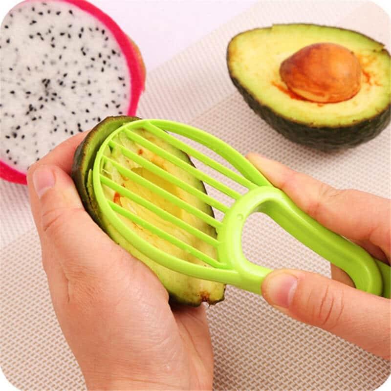 Going Vegan?; 3 In 1 Avocado Slicer Corer Cutter Tool