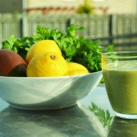 Prize Pineapple and Parsley Smoothie