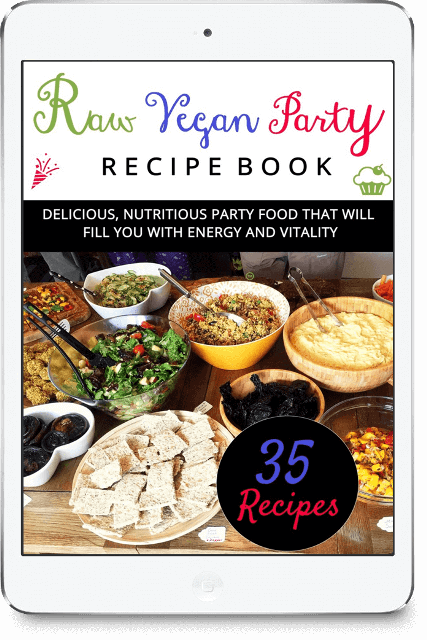 Going Vegan? Don't Start Without Reading This; Raw Vegan Recipes For Parties Book