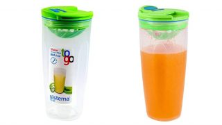 Sistema Shaker To Go Smoothie Bottle