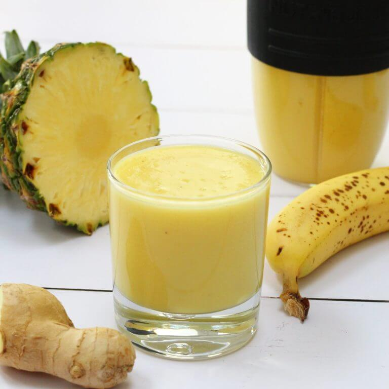 27 HEALTHY Smoothie Recipes: Tasty & Quick TROPICAL GINGER SMOOTHIE TO KEEP YOU HEALTH