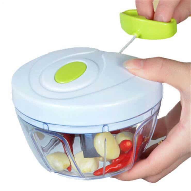 Going Vegan?: Manual Mini Food Processor