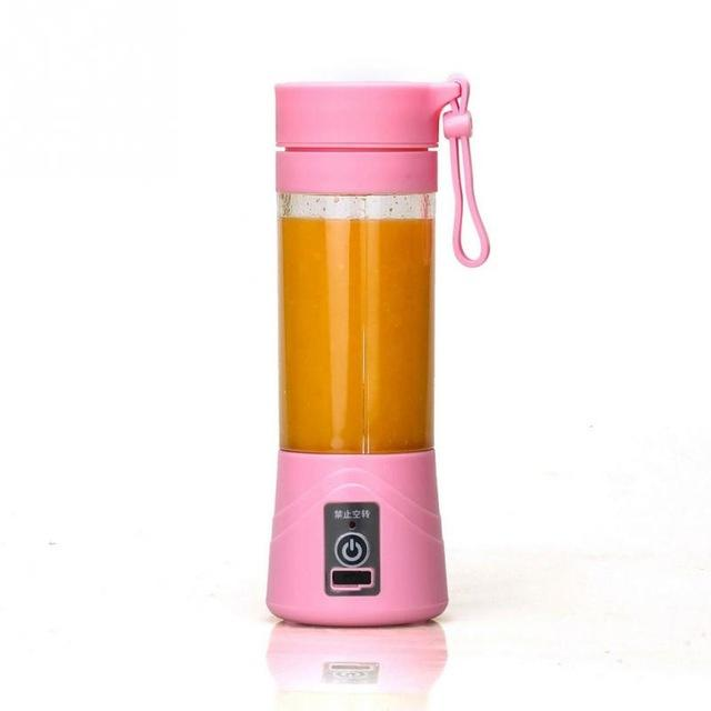 9 Weight Loss Drinks That Work Wonders Mini Portable Rechargeable USB Electric Fruit Smoothie Maker