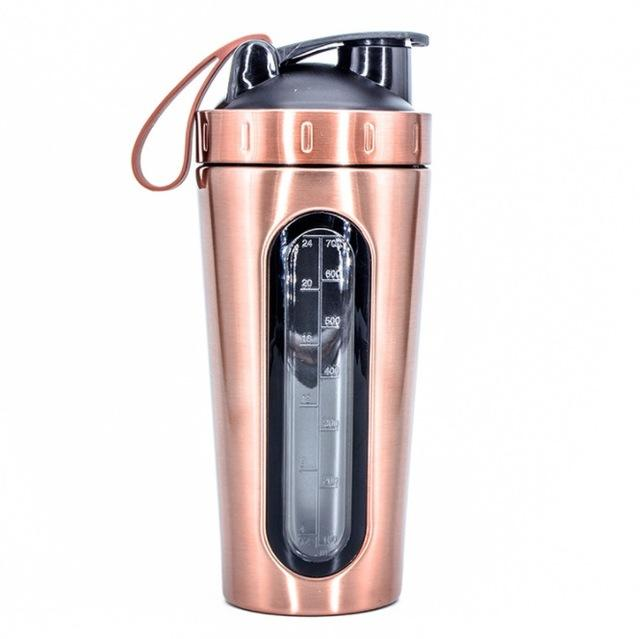 The Only Guide To Protein Shakes You'll Ever Need; Stainless Steel Protein Powder Shaker Bottle