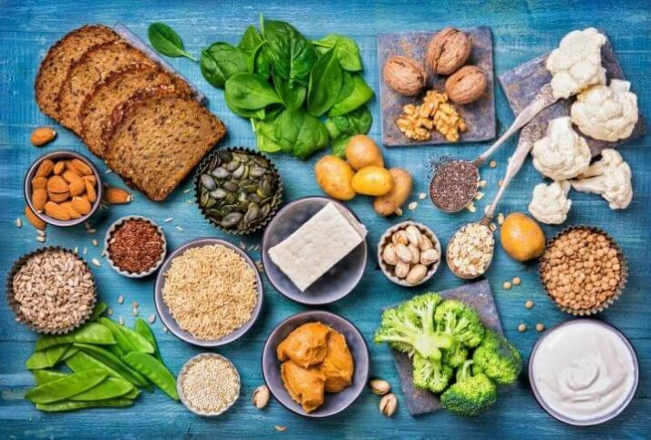 How Much Is Too Much Protein? What No One Is Telling You; vegan-protein-sources-FOOD-BREAD-SEEDS-leaves