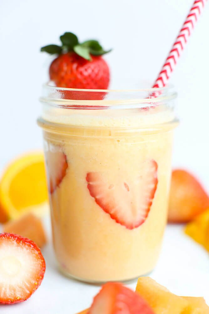27 HEALTHY Smoothie Recipes: Tasty & Quick vitamin c fruit smoothie