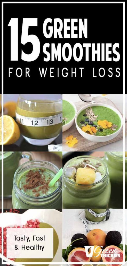 15 Green Smoothies For Weight Loss: Tasty, Fast & Healthy
