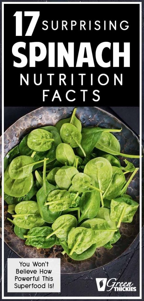 17 Surprising Spinach Nutrition Facts & Health Benefits