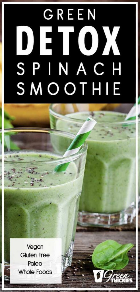 Green Detox Spinach Smoothie: Satisfy Your Cravings Quickly