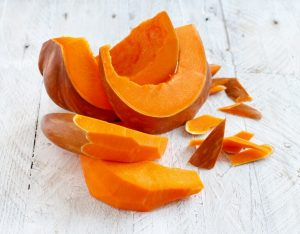 34 High Protein Vegetables You Probably Already Eat; Pumpkin slices squash