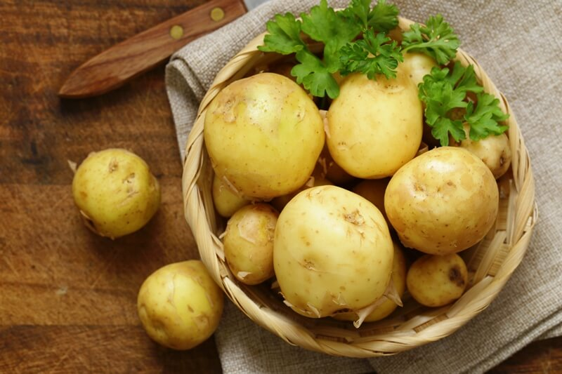 34 High Protein Vegetables You Probably Already Eat; potatoes