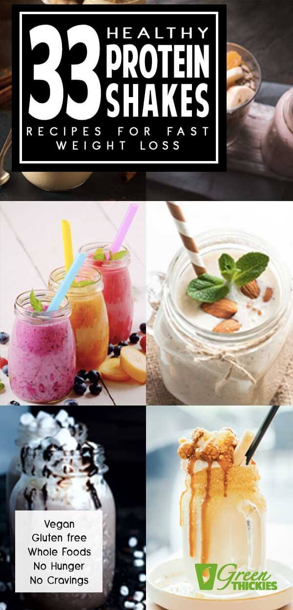Here are my favorite healthy protein shakes recipes for FAST weight loss.These recipes have helped me to lose 56 pounds in just a few months.People keep asking me to share my recipes with them so they can achieve the same success.  In this post I'll also share exactly what you need to do to lose the weight at the same rate that I did.Click the link to get the recipes:#greenthickies #proteinshakes #proteinshakerecipes #weightlossshakes #proteinsmoothies #smoothies #vegan ...