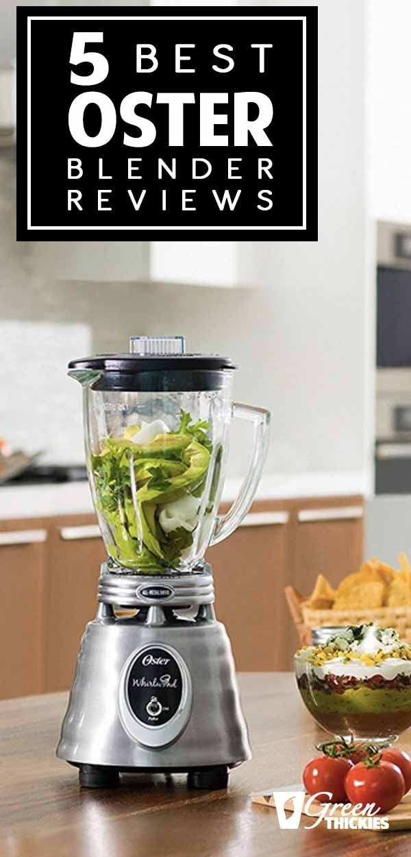 If you are going to make smoothies or thick shakes, you need a good blender. There are plenty on the market, and it can be hard deciding which one will serve you best.I realize when shopping for a blender, it's important to know what you're getting. That's why I've compiled this list with reviews of the best Oster blenders available to help you decide if any of the Oster blenders are right for you.Click the link to read more...#greenthickies #oster #osterblender #blender ...