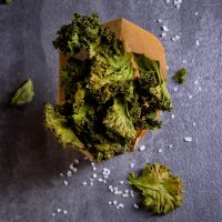 Chocolate Caramel Kale Chips Recipe