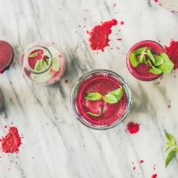 Fruity Beetroot Hidden Greens Smoothie for Anemia
