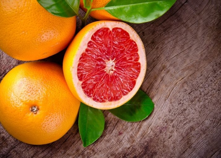 21 Lowest Calorie Fruits For Weight Loss List; Grapefruit