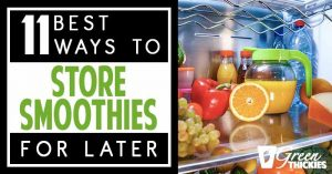 How To Store Smoothies 11 Ways (fridge, Freezer, How Long)