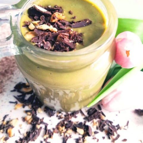 Indulgent Chocolate Green Smoothie For Dinner Recipe