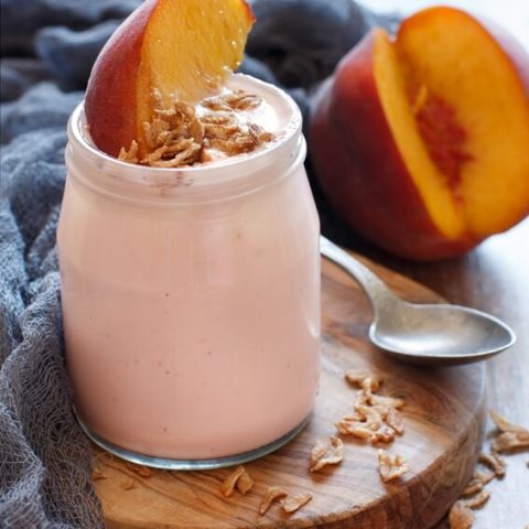 Peach Yogurt Smoothie