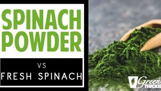 Spinach Powder Vs Fresh Spinach: Includes Weight Loss Recipe