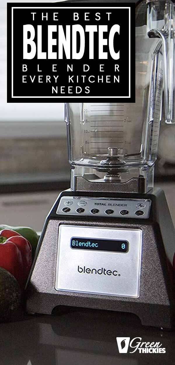 Today I'm showing you the best blendtec blender that I use every day in my kitchen.I\'ve had the chance to make green smoothies and meal replacement shakes with many different blenders. Some outperform others, but one blender stands out the most.Click the link to read the full blog post:#greenthickies #blenders #blendersforsmoothies #blendtecblender #blendtec #bestblender #highspeedblender #professionalblender #smoothieblender