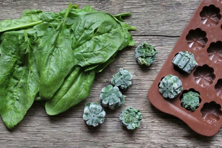 How To Use Spinach In A Smoothie: All Your Questions Answered; freeze spinach