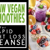29 Raw Vegan Smoothies For Rapid Weight Loss & Cleanse