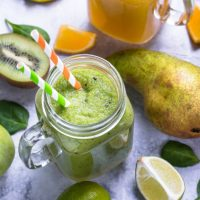 Coconut Mango Spinach Smoothie