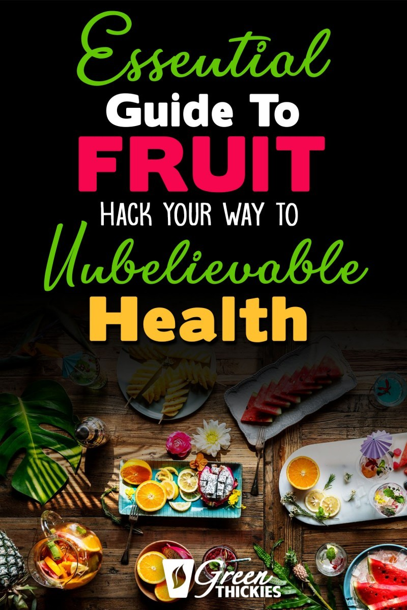 This incredible guide to fruit will blow your mind with fascinating fruit facts, fruit benefits, fruit tutorials, 200+ fruit recipes and videos.Includes fruit salad, snacks, bowls, platters, recipes, ideas, smoothies, desserts, tropical, banana, orange, apple, infused water, fresh, mango, party, healthy, diet, drinks, lists, kids, juice and other fruit meals.#greenthickies #fruit #fruitguide #fruitmeals #fruitsnacks