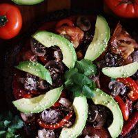 Ultimate Raw Vegan Pizza (Low-fat, Oil-free, Salt-free)
