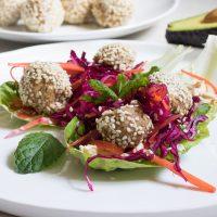 Raw Vegan Falafel Recipe
