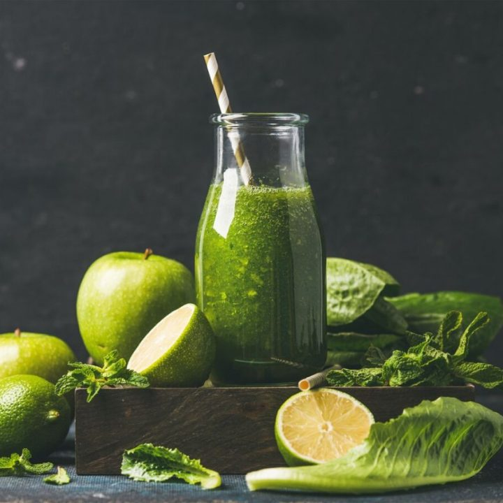 Sweet Punch Romaine Lettuce Smoothie