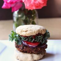 Raw Vegan Burgers