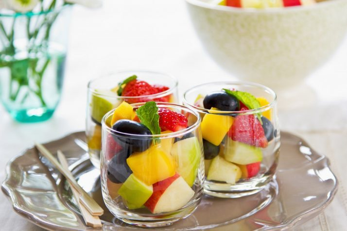 Guide To Fruit: Facts, Benefits, Tutorials, Recipes & Videos; Fruits salad