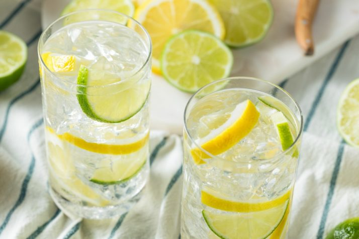 Homemade Lemon and Lime Water