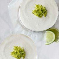 Raw Lime Cheesecake (Vegan, Gluten-Free)