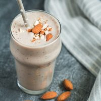 Sweet Almond Cookies Smoothie (Contains No Fruit)