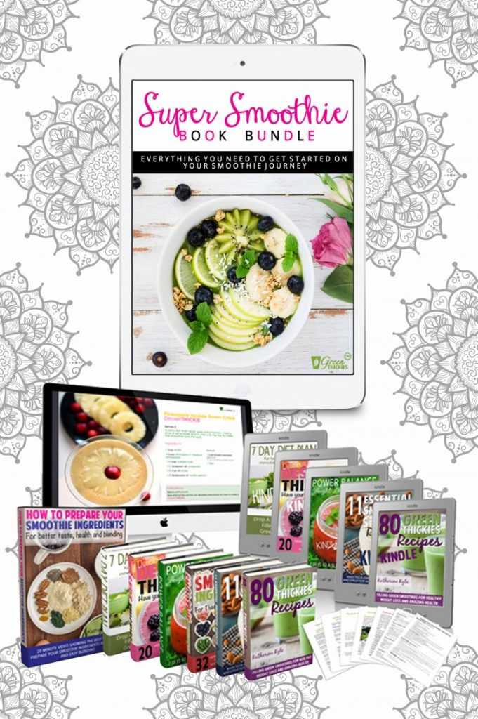 Super Smoothie Book Bundle