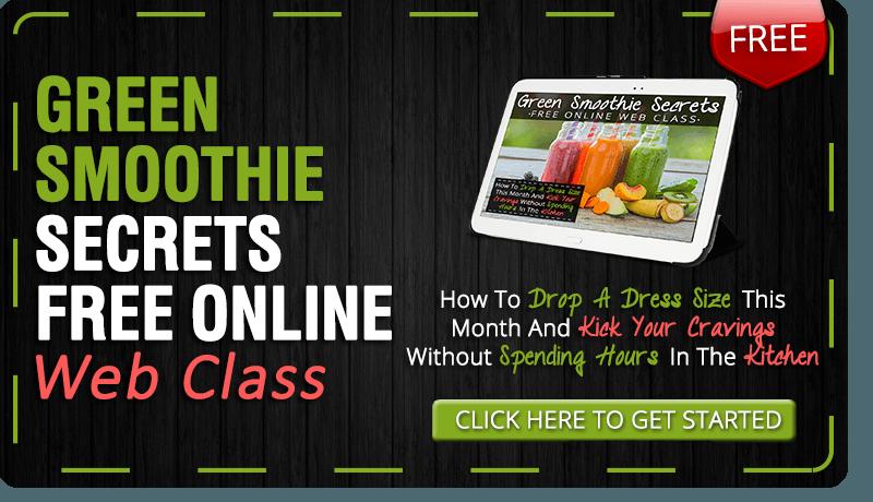 Green Smoothie Webinar Online Class Training