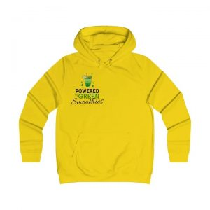 17 Fruit Fashion Items That Makes A Statement; Powered By Green Smoothies Ladies Hoodie 2