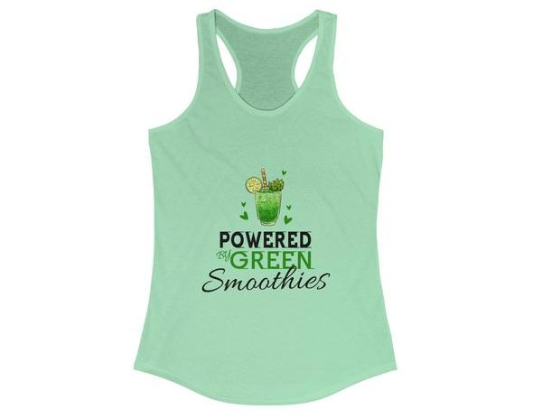 17 Fruit Fashion Items That Makes A Statement; Drink Your Greens Ladies Tank Top