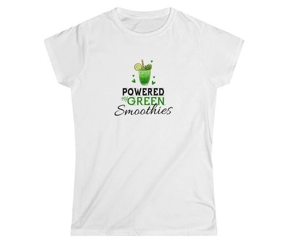 17 Fruit Fashion Items That Makes A Statement; Powered By Green Smoothies Tshirt