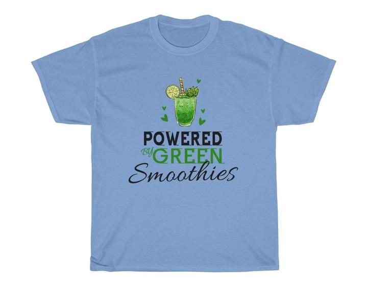 17 Fruit Fashion Items That Makes A Statement; Powered By Green Smoothies Unisex Heavy Cotton Tee
