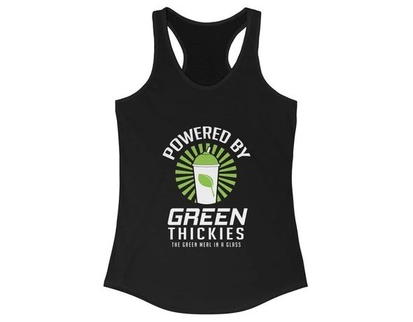 17 Fruit Fashion Items That Makes A Statement; Powered By Green Thickies Ladies Tank Top