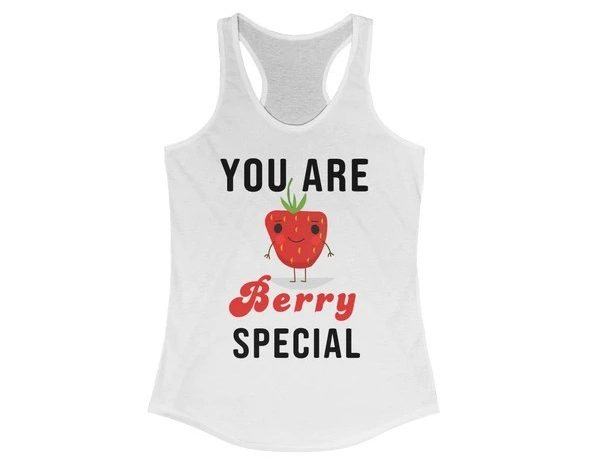 17 Fruit Fashion Items That Makes A Statement; You Are Berry Special Women's Ideal Racerback Tank
