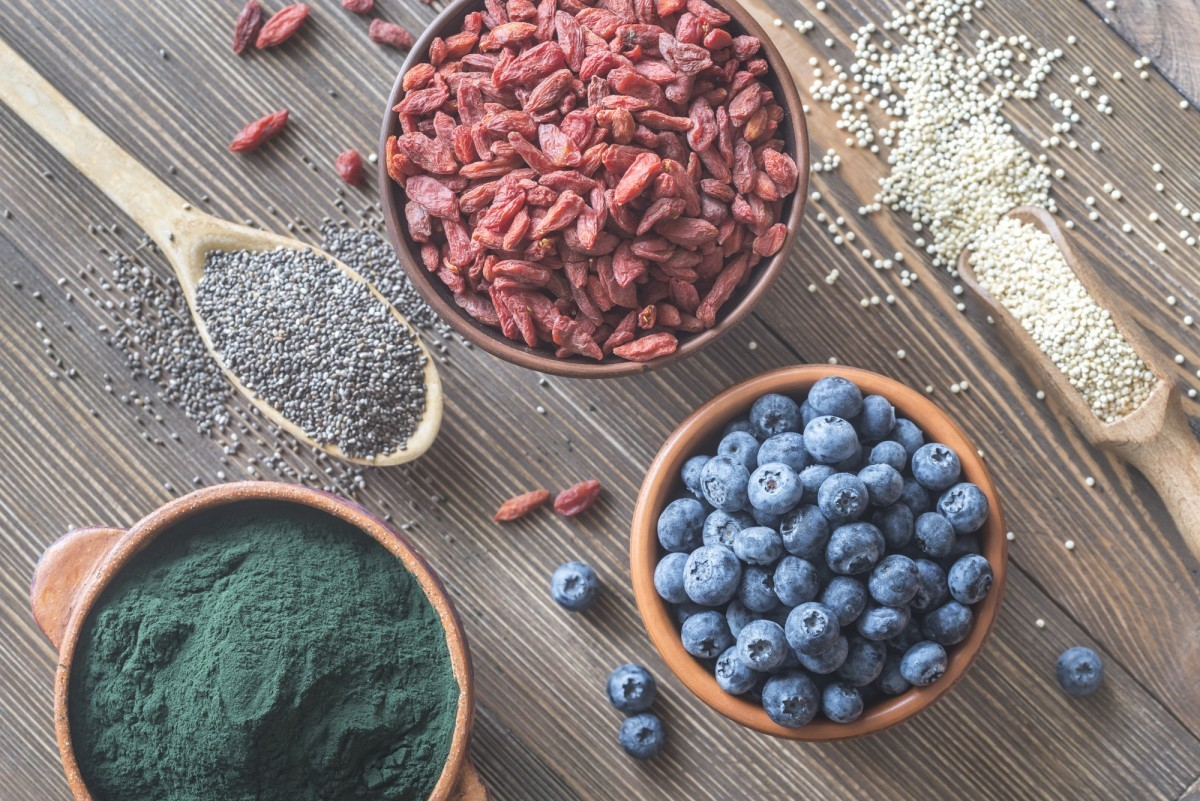 200+ Smoothie Ingredients Shopping List Printable; Superfoods